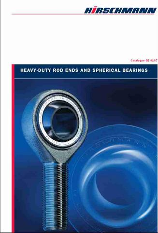 GE4309 Metric Rod ends & Spherical bearings