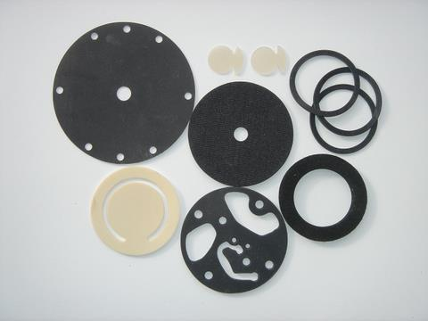 Press Cut Rubber Washers And Rubber Gaskets